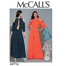 McCall´s Schnitt M7716 'Off Shoulder Kleid'