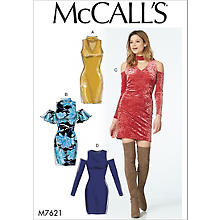 McCall´s Schnitt M7621 'Cut-Out-Kleid'
