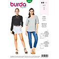 "burda Schnitt 6424 ""Cut-Out Bluse"""