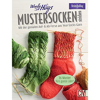 Buch 'Woolly Hugs Mustersocken stricken'