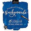 """Buch """"Handlettering Backgrounds"""""""