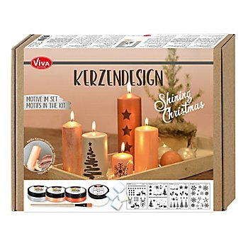 Kerzendesign Set 'Shining Christmas'