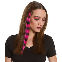 Haar-Extension, neonpink