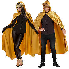 buttinette Cape en satin, or