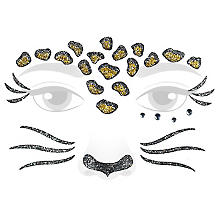 Face Art Tattoo 'Leopard'