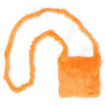 buttinette Tasche Plüsch, orange