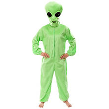 buttinette Alien Kostüm Unisex