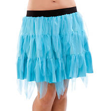 Jupe en tulle, turquoise