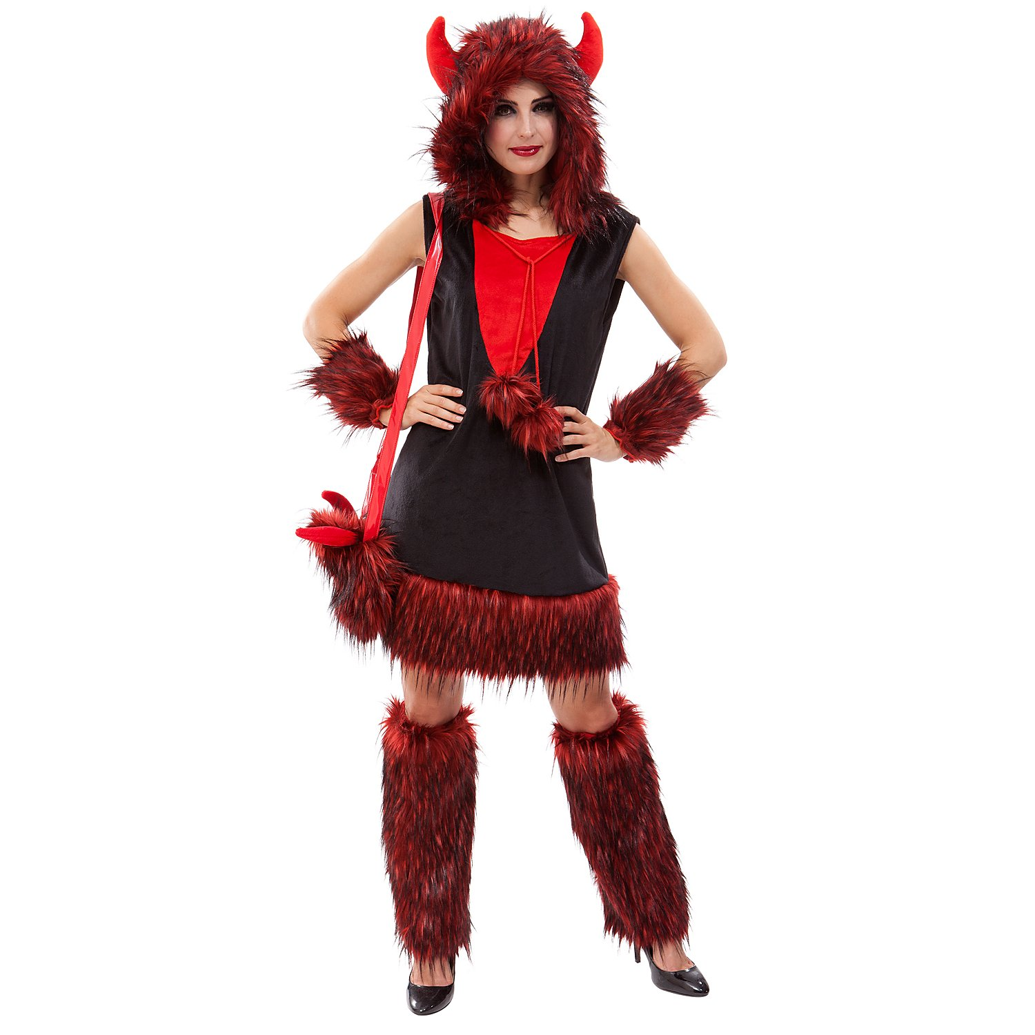 Teufel Kostum Fur Halloween Fasching Buttinette Karneval Shop