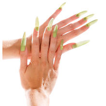 Faux Ongles 'Glow' fluorescents, vert