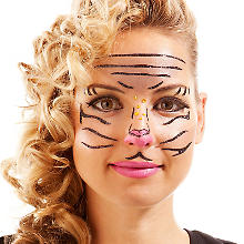 Face Art Tattoo 'Tiger'