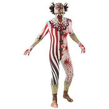 Morphsuit 'Clown Jaw Dropper', multicolore
