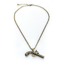 Collier de pirate 'pistolet', or