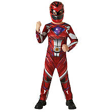 Red Power Ranger Kostüm für Kinder