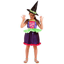 Hexen Kostüm 'Little Witch' für Kinder