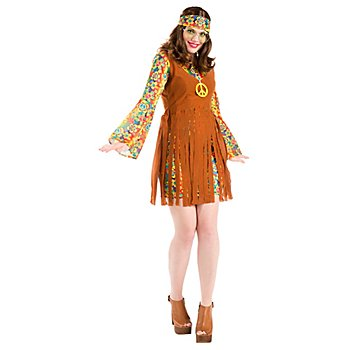 Hippie Kleid 'Happy Flora' für Damen