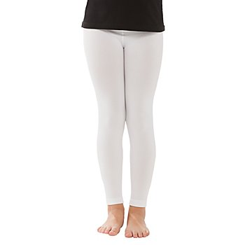 Thermo-Leggings für Kinder, weiß