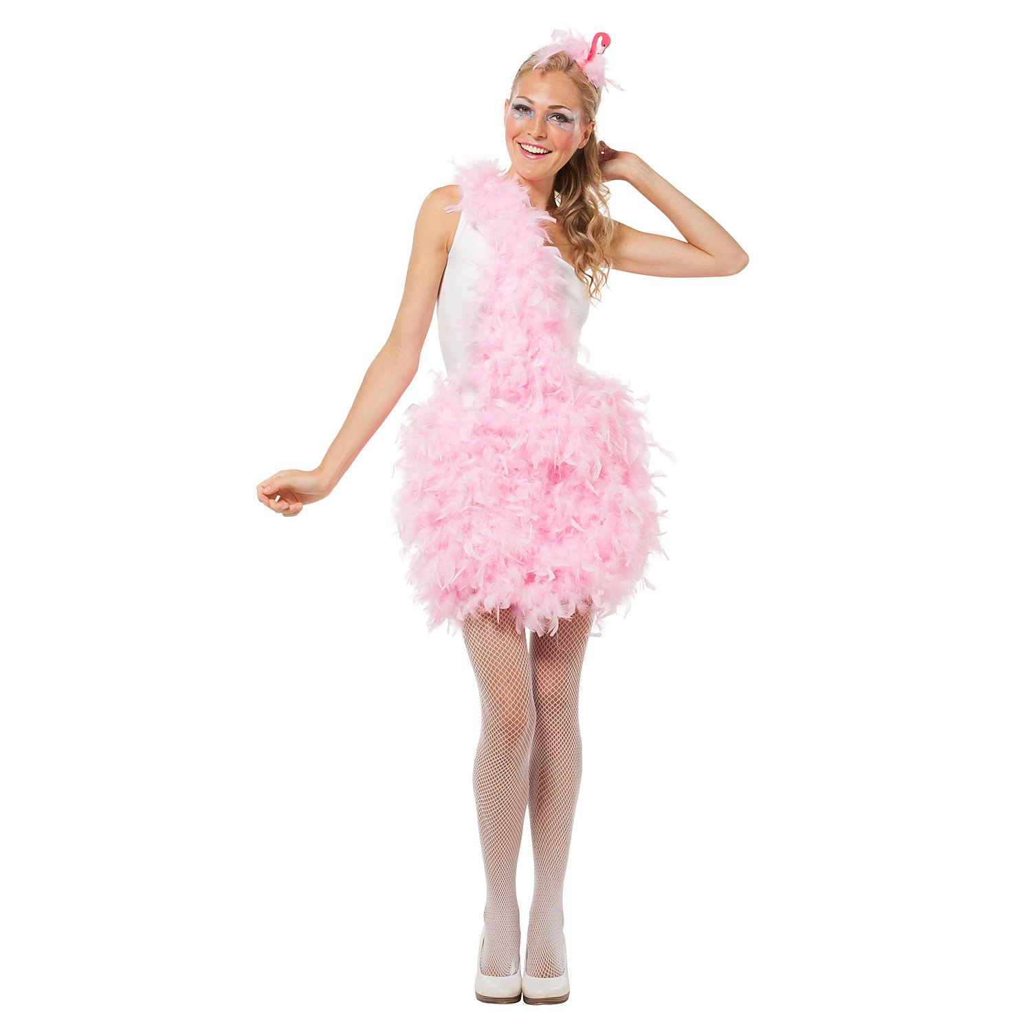 Buttinette Kostum Flamingo Fur Damen Online Kaufen Buttinette