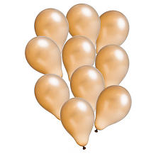 Luftballons 'Metallic', gold
