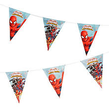 Girlande 'Spiderman', 2 m