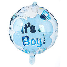 Folienballon 'It´s a Boy', Ø 43 cm