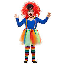 Set 'clown' pour enfants, multicolore
