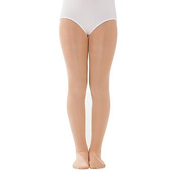 buttinette Collants de danse pour enfants, 60 deniers, champagne