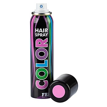 Haarspray 'Color' - rosa-pastell