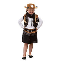 Cowgirl Kostum Outfit Buttinette Karneval Shop