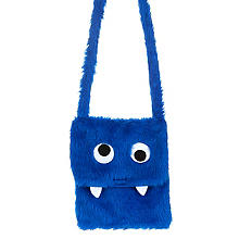 Monstertasche, blau